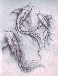 koi fish by dennis adriano