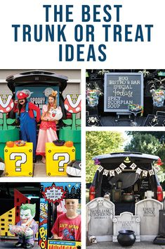 Be inspired by Everyday Party Magazine's round up of The Best Trunk or Treat Ideas! #TrunkOrTreat #Halloween