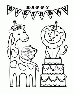 Spongebob Coloring Pages Happy Birthday . Spongebob Coloring Pages Happy Birthday . Happy Birthday and Funny Animals Coloring Page for Kids Holiday Mom Coloring Pages, Happy Birthday Coloring Pages, Animal Coloring Pages, Printable Coloring Pages, Coloring Sheets, Coloring Pages For Kids, Free Coloring, Coloring Books, Adult Coloring