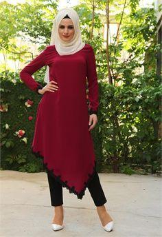 Stylish Hijab, Hijab Chic, Hijab Style Dress, Hijab Outfit, Hijab Fashion, Girl Fashion, Fashion Outfits, Simple Dresses, Pretty Dresses