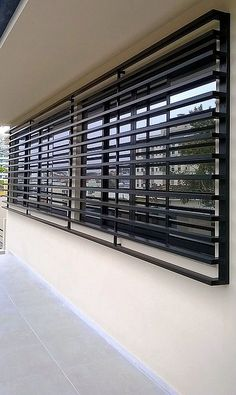 Cocoa by Modern Tiny Living & Tiny Living Home Window Grill Design, Modern Window Design, Window Grill Design Modern, House Window Design, Balcony Grill Design, Grill Door Design, Door Gate Design, House Gate Design, Modern Windows