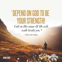 God is using your obstacles to move you to a higher level of ministry. Don't worry about your circumstances. Seek Him first and He will be your strength.<br><br>SHARE this message to remind others to call upon the Lord!