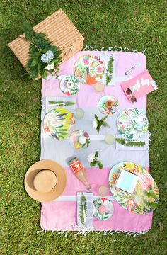 Decorating for a picnic