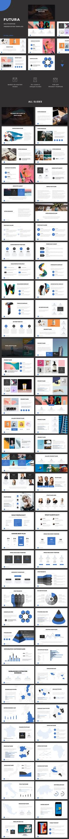 530 Best Powerpoint Templates images in 2018 | Powerpoint charts