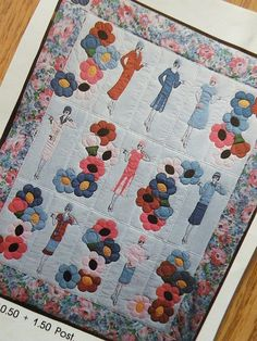 Thrifted 20's Quilt Pattern by beebers31, via Flickr