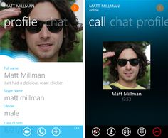 #WindowsPhone7  #skype