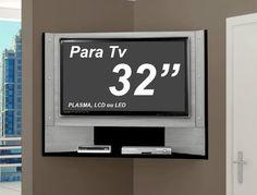 Painel De Canto 107cm P/ Tv 32 Led Lcd Plasma Smart Home