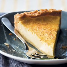 Melktert is such a South African classic! We love this delicious twist on the traditional recipe.Get the recipe here. Melktert Recipe, Salted Caramel Fudge, Salted Caramels, Milk Tart, South African Recipes, Oreo Cake, Russian Recipes, Curry Recipes, Dessert Recipes