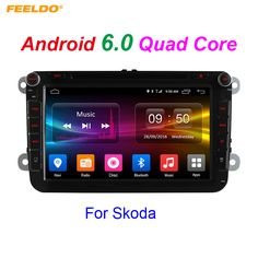 "8inch Android 6.0 (64bit) DDR3 2G/16G/4G LTE 8""Quad Core Car DVD GPS Radio For Skoda Octavia/Seat/Altea/Leon/Tolendo/Alhambra #Affiliate"