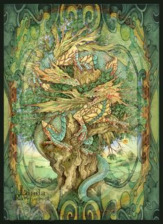 Tree of Life - Life is All Around Us ~ by Linda Ravenscroft