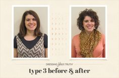 Lisa's dynamic Dressing Your Truth Type 3 Makeover!