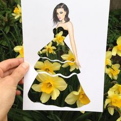 Armenian fashion illustrator Edgar Artis (previously here) creates gorgeous dress designs with everyday objects he finds at home. Fashion Illustration Sketches, Cute Illustration, Fashion Sketches, Illustrations, Arte Fashion, 3d Fashion, Fashion Design, Unique Drawings, Amazing Drawings