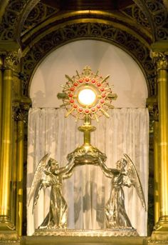 When we are before the Most Holy Sacrament, we must not be content merely to adore Him with lip-service; we need to lower ourselves into a profound emptying out of self...