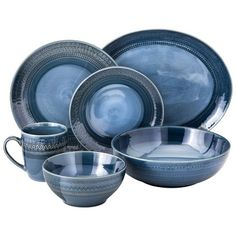 Threshold™ Kingsland Dinnerware Collection - Blue