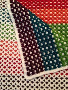 Reversible Baby Afghan - Free Crochet Pattern