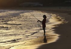 """""""Fishing at Putty Beach"""" by Vince Basile, via 500px."""