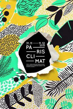 Плакат Paris Climat 2015