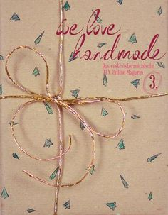 we love handmade MAG #3