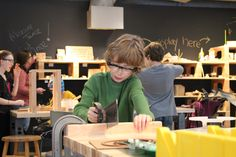 From our newest exhibit: Tinkering Lab! At the CMEG meeting, Fab Labs, hacker space, and tinkering spaces were all discussed as ways of getting young people involved in technology and hands on learning in museums.