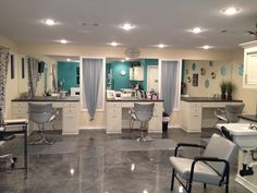 new small salon ideas @Kenzi Hardy Garcia... this is cute