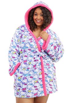 kitty pajamas plus size