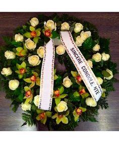 Funeral Bouquet, Wreaths, Green, Door Wreaths, Deco Mesh Wreaths, Floral Arrangements, Garlands, Floral Wreath, Garland