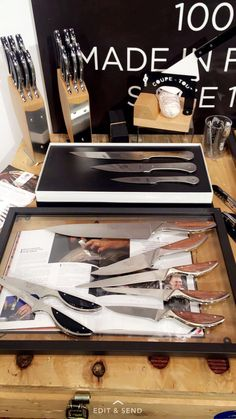 French Kitchen Knives Claude Dozorme Cutlery