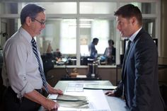Jensen Ackles and his dad Alan Ackles in Supernatural