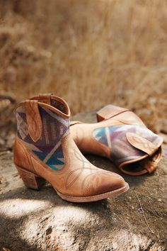 Sneak Peek: Meadow bootie from the Ariat Pendleton Collection. Available Oct 1st.
