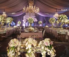 An exquisite chandel