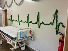 Funny pictures about Christmas decorations at the hospital. Oh, and cool pics about Christmas decorations at the hospital. Also, Christmas decorations at the hospital. Office Christmas, Christmas Door, Merry Christmas, Funny Christmas, Christmas Ornament, Christmas Ideas, Holiday Ideas, Christmas Stuff, Holiday Fun