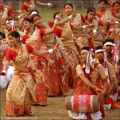 Bihu Festival, Assam, India.