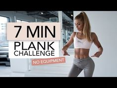 7 minutes plank workout