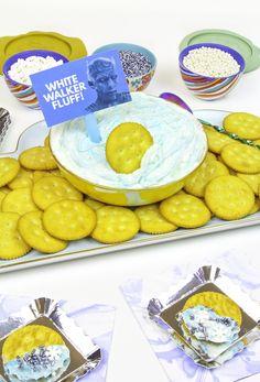 DIY White Walker Fluff Dip & Sprinkle Bar!