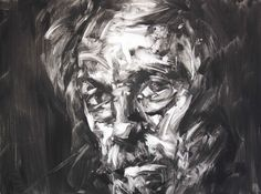 Paul Wright's monotypes are energetic, bold and characterful. His is a language that uses rich oil colour that glides across the surface, offering up not only a likeness ofthe subject but an essence of the sitter's inner self, and a painterly quality that is sumptuous and vibrant. In abstract terms the mark making and colour offer a feast for the eyes, while the subject matter and howit is portrayedoffers intrigue and insight. Lisa: What do you like most about making monotypes? Paul:The…