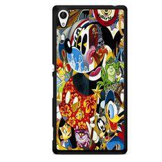 Disney Character Famous TATUM-3316 Sony Phonecase Cover For Xperia Z1, Xperia Z2, Xperia Z3, Xperia Z4, Xperia Z5