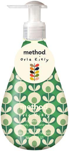 Method Orla Kiely Limited Edition Gel Handwash, Tomato Vine, 12 oz