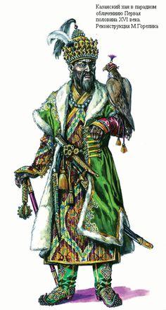 Khan of Kazan Khanate, 1st half XVI c.
