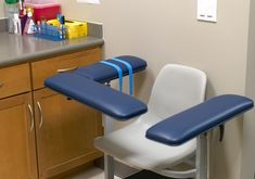 Everyone with thyroid disease spends some time in this chair. If you're lucky, it will only be once a year.
