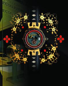 The O-YOROI Watch By ROMANO ALBERTI Italy www.timechangers.it  Discover it at E'COLLEZIONE  in Sinapore! www.ecollezione.com