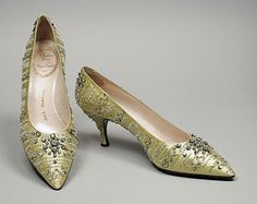 Shoes, Roger Vivier for Dior, 1958,   The Los Angeles County Museum of Art