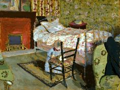 Edouard Vuillard, Annette Roussel with a Broken Chair, c. 1900