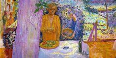 PIERRE BONNARD (1867/1947), PITTORE FRANCESE – Dove c'è molto di più che essere uscire dal colore - Meeting Benches