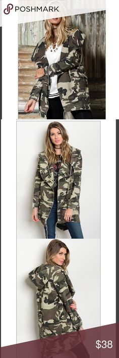 Camouflage Jacket - Coming Soon! Camouflage Jacket - Coming Soon! Jackets & Coats Utility Jackets