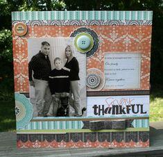 Give thanks layout Vicki