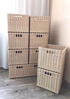 Новости Storage Baskets, Organization, Home Decor, Getting Organized, Organisation, Decoration Home, Room Decor, Tejidos, Home Interior Design