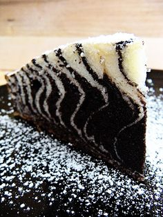 Zebra Cake ....great technique - can't wait to experiment and see what alternate things I can do with this