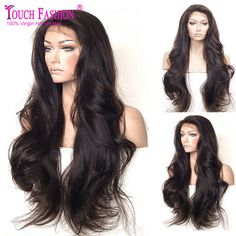 Online Shop 8A Top Grade Free Part Brazilian Loose Wavy Lace Front Wig Glueless Full Lace Human Hair Wigs with Baby Hair Bleached Knots | Aliexpress Mobile