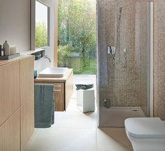 Duravit L-Cube furniture and ceramics. Cube Furniture, Bathroom Furniture, Complete Bathrooms, Dream Bathrooms, Duravit, Mobile Storage Units, Built In Bathtub, Phoenix Design, Vanity Basin