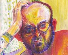 Self-Portraits Drawn Whilst High On Different Drugs By Bryan Lewis Saunders